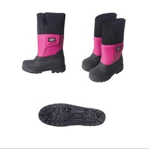 Girls Snow Boot Pink SnowStoppers Sz 13